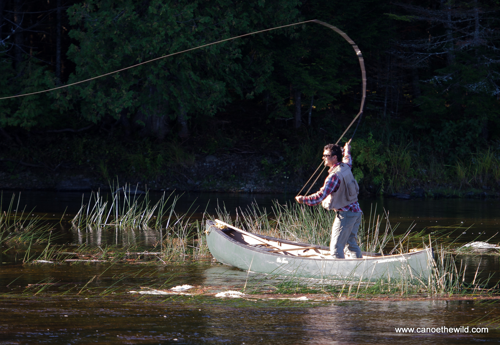 Fly fishing in maine canoe the wild for Fly fishing maine