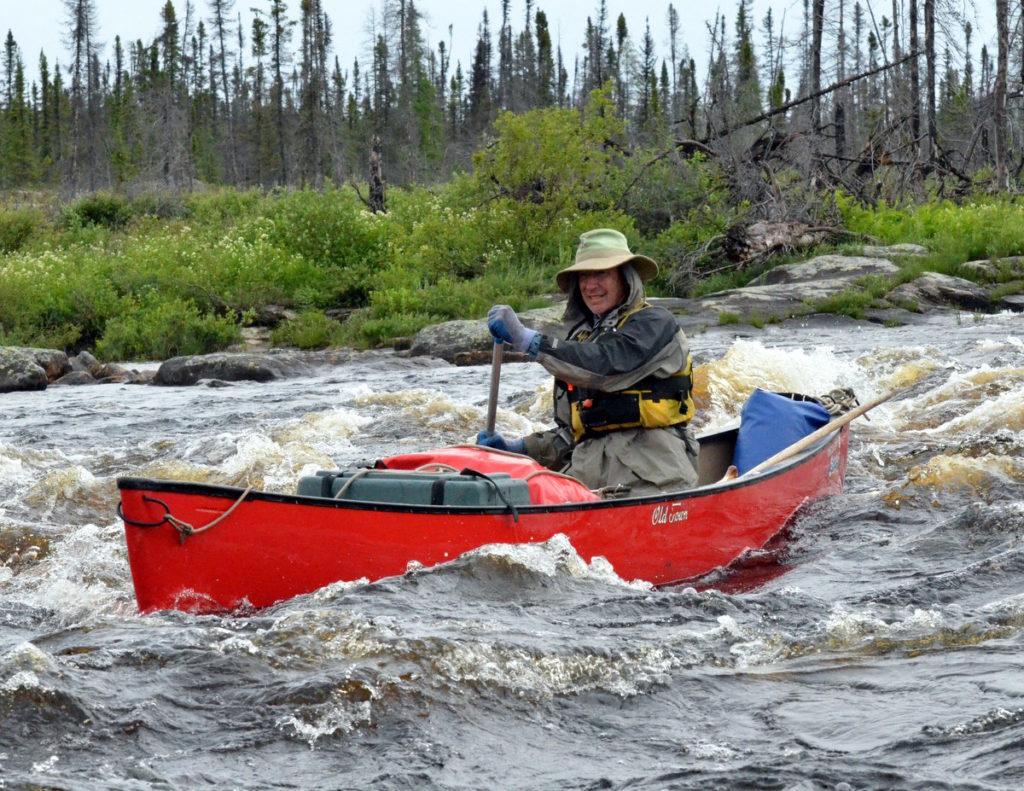 Canoe trip, Canada, NE Mistissibi