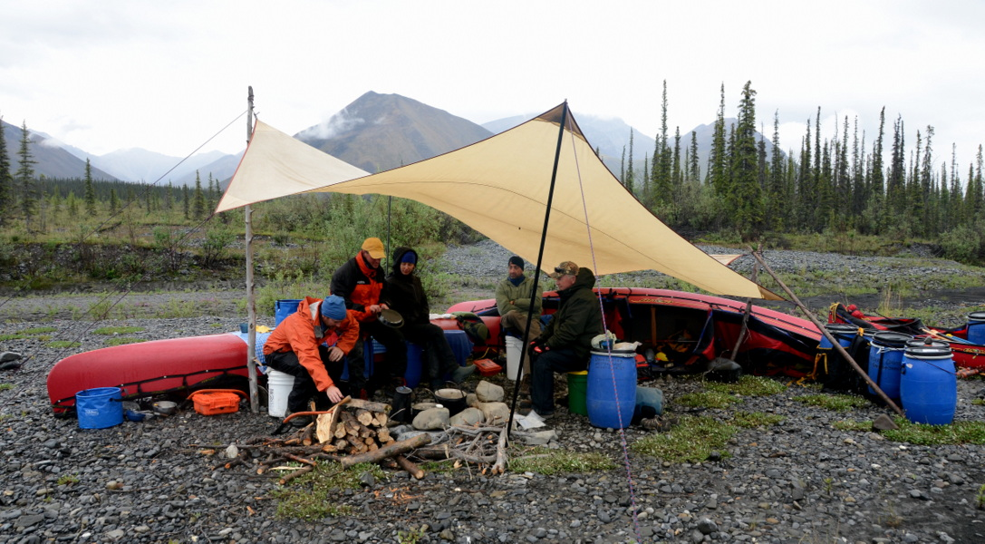 Canoe guide and outfitter, camping trips