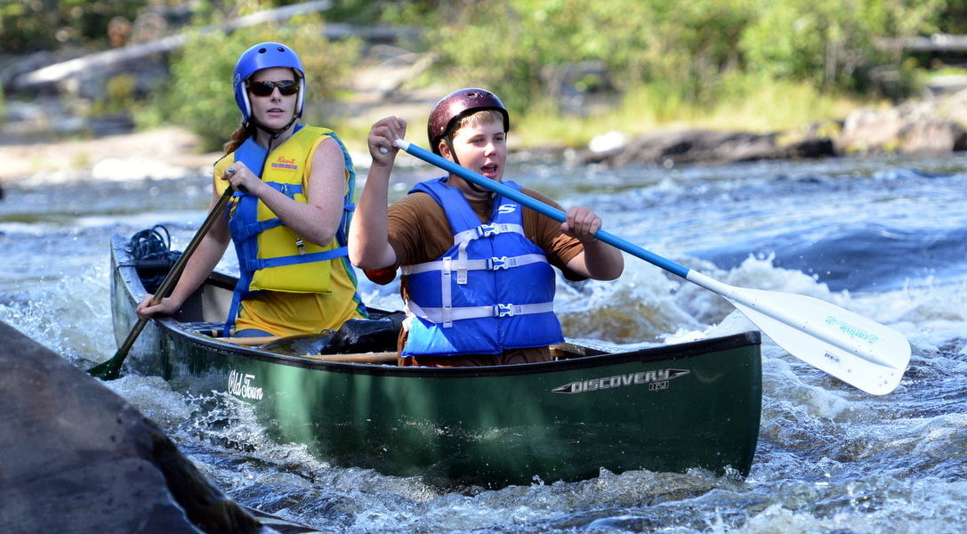 Maine canoe trips and backcountry adventures, Webster Stream