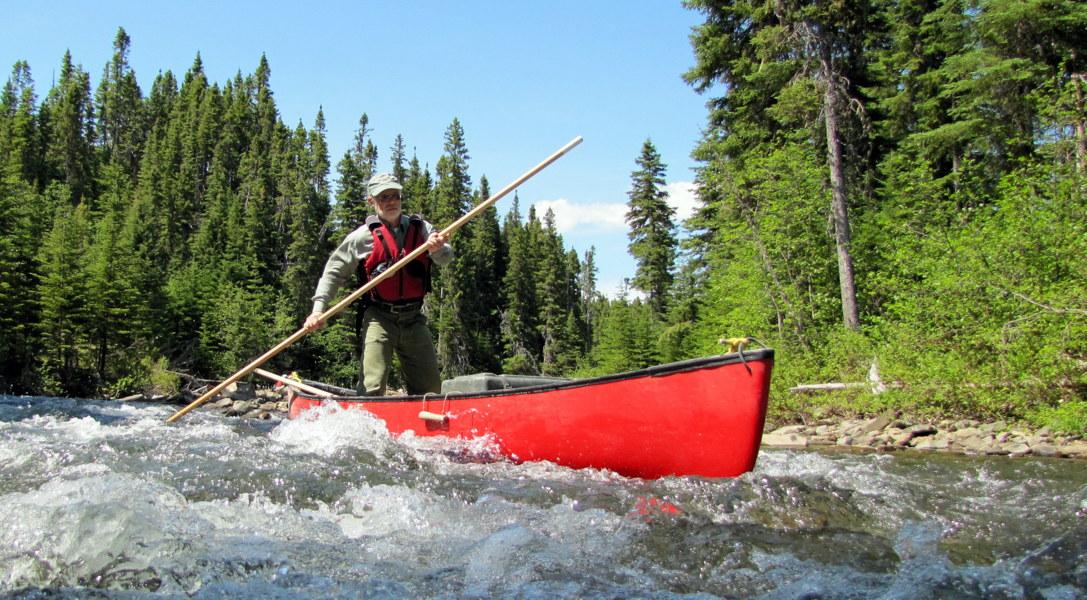 Bonaventure River Canoe trip