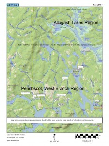 West Brance Penobscot Map