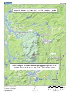 Webster Stream Trip Map